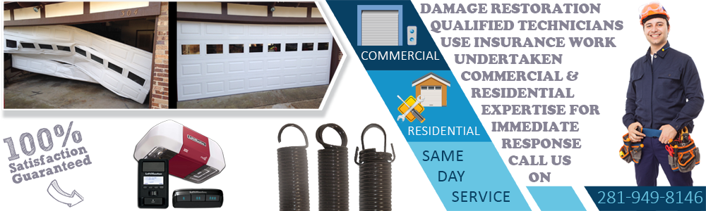 Garage Door Repair Webster TX banner