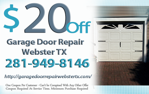 Garage Door Repair Webster TX Coupon
